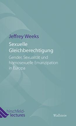 Abbildung von Weeks | Sexuelle Gleichberechtigung | 2014 | Gender, Sexualität und homosex... | 4