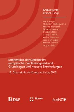 Abbildung von Grabenwarter / Vranes (Hrsg.) | Kooperation der Gerichte im europäischen Verfassungsverbund | 2013 | Grundfragen und neueste Entwic...
