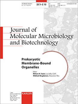 Abbildung von Saier Jr. / Bogdanov | Prokaryotic Membrane-Bound Organelles | 2013 | Special Topic Issue: Journal o...