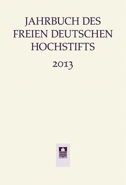 Abbildung von Bohnenkamp | Jahrbuch des Freien Deutschen Hochstifts 2013 | 2014 | 2013