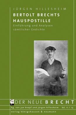 Abbildung von Hillsesheim | Bertolt Brechts Hauspostille | 1. Auflage | 2013 | 11 | beck-shop.de