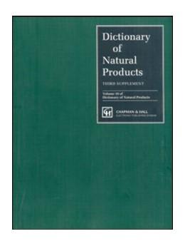 Abbildung von Buckingham | Dictionary of Natural Products, Supplement 3 | 1996