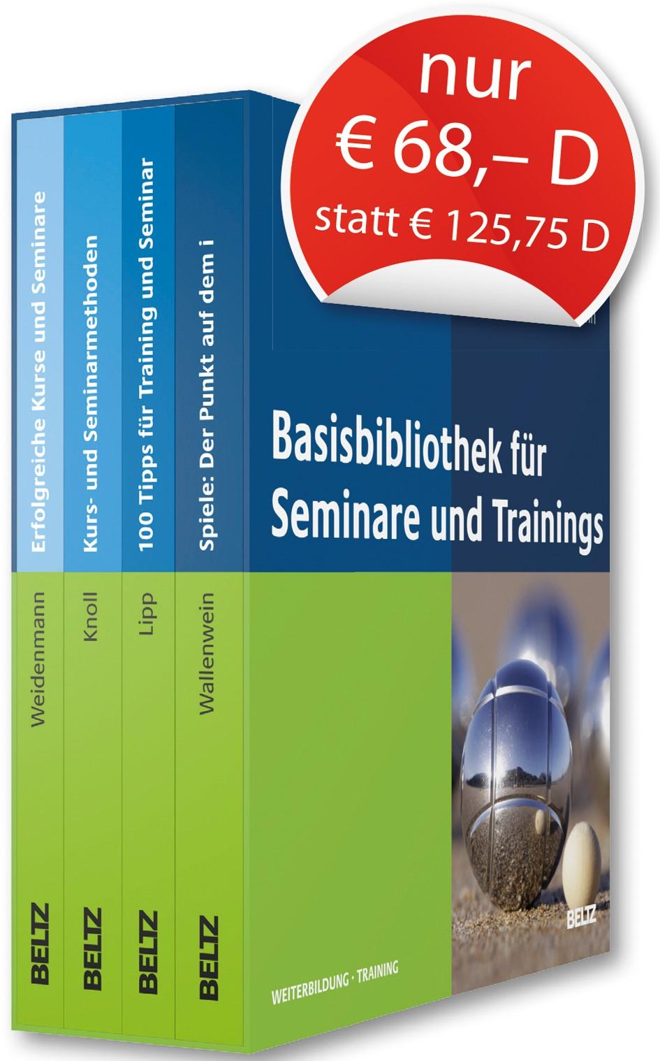 Basis-Bibliothek für Seminare und Trainings | Lipp / Knoll / Wallenwein-Toelstede, 2013 | Buch (Cover)