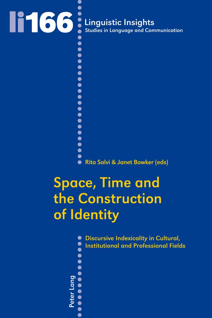 Space, Time and the Construction of Identity | Bowker / Salvi, 2013 | Buch (Cover)