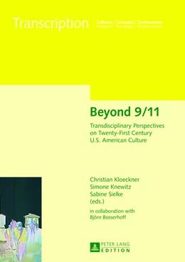Abbildung von Sielke / Klöckner / Knewitz | Beyond 9/11 | 2013 | Transdisciplinary Perspectives... | 6