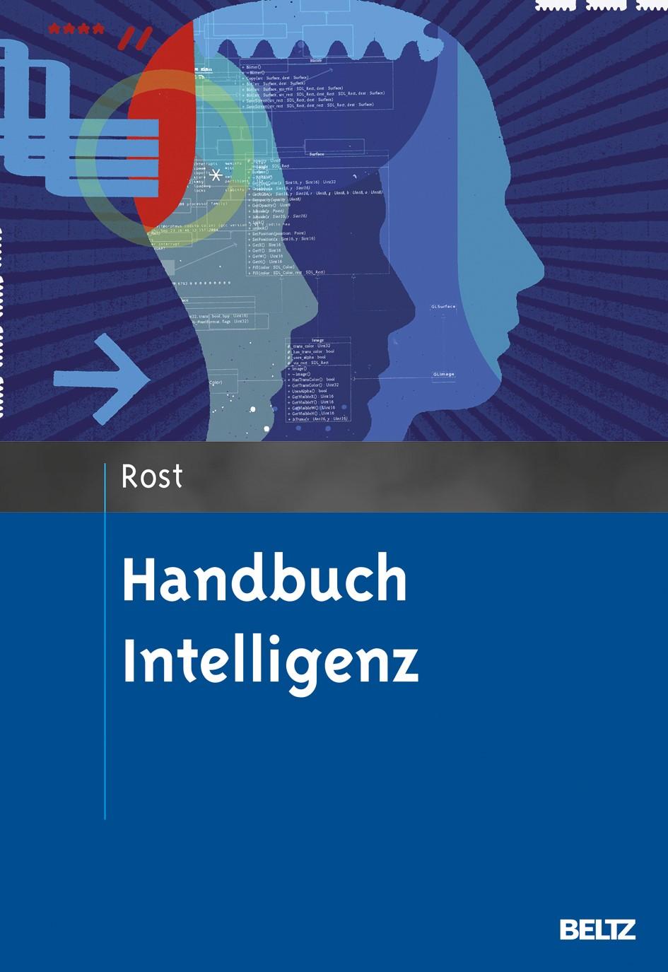 Abbildung von Rost   Handbuch Intelligenz   Originalausgabe   2013
