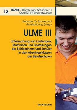 Abbildung von ULME III | 2013 | Untersuchung von Leistungen, M... | 12