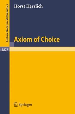 Abbildung von Herrlich | Axiom of Choice | 2006 | 1876