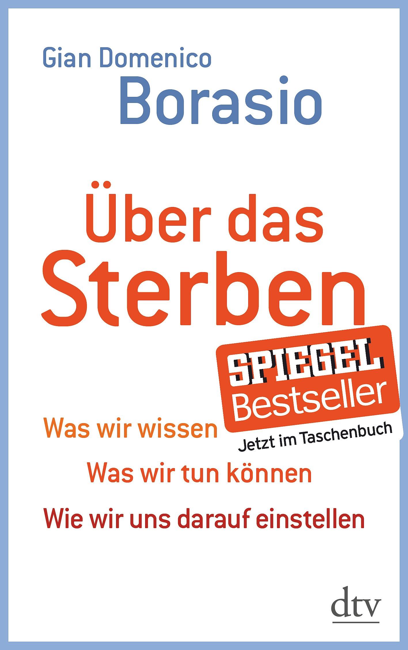 Über das Sterben | Borasio, 2013 | Buch (Cover)