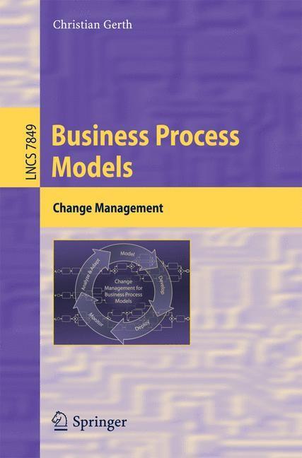Abbildung von Gerth | Business Process Models | 2013