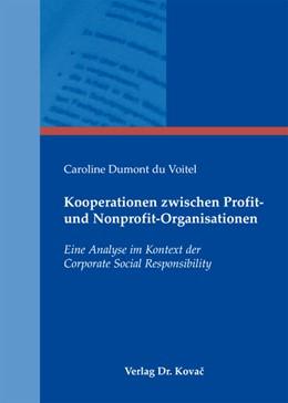 Abbildung von Dumont du Voitel | Kooperationen zwischen Profit- und Nonprofit-Organisationen | 1. Auflage 2013 | 2013 | Eine Analyse im Kontext der Co... | 78