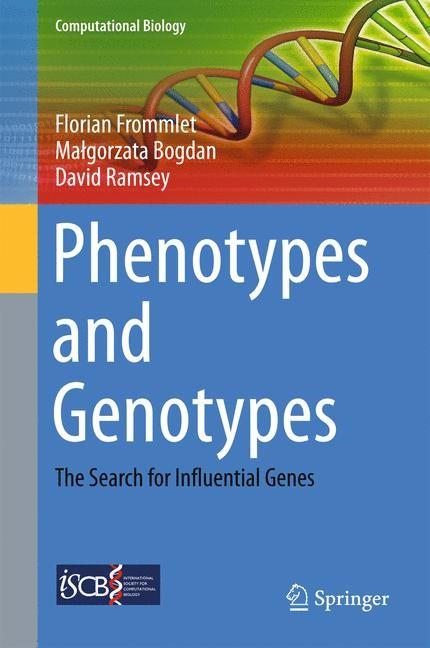 Abbildung von Frommlet / Bogdan / Ramsey   Phenotypes and Genotypes   1st ed. 2016   2016