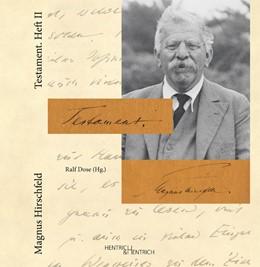 Abbildung von Hirschfeld / Dose | Testament. Heft II | 2013