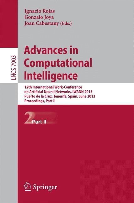 Abbildung von Rojas / Joya / Cabestany | Advances in Computational Intelligence | 2013