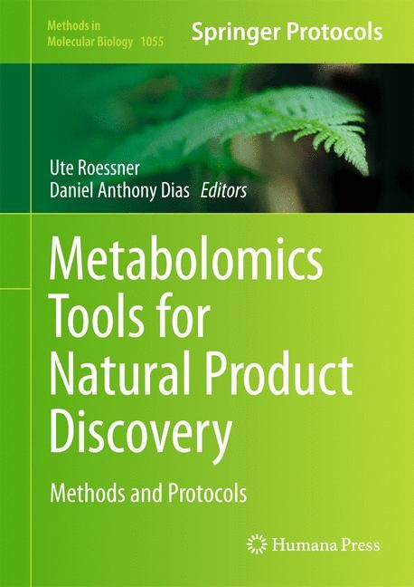 Abbildung von Roessner / Dias | Metabolomics Tools for Natural Product Discovery | 2013