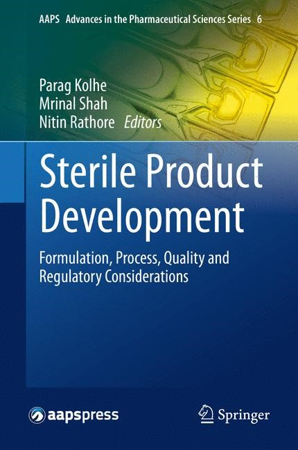 Abbildung von Kolhe / Shah / Rathore | Sterile Product Development | 2013