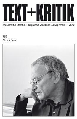 Abbildung von Uwe Timm | 2012 | 195