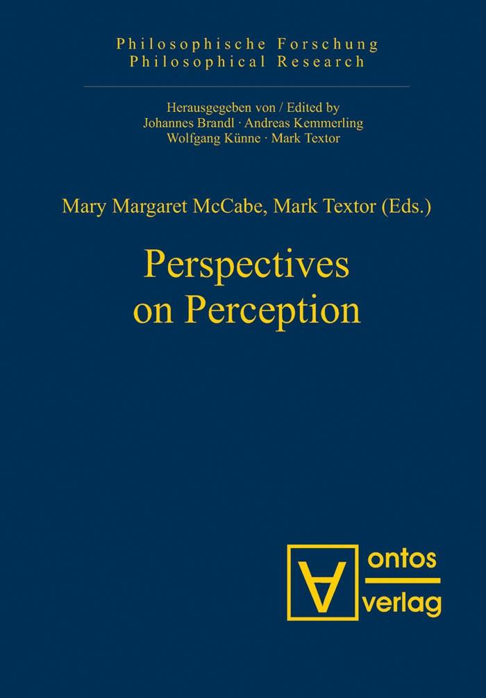 Abbildung von McCabe / Textor   Perspectives on Perception   2007