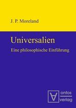 Abbildung von Moreland | Universalien | 2009