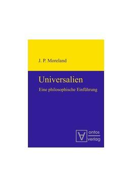 Abbildung von Moreland | Universalien | 2009 | Eine philosophische Einführung...