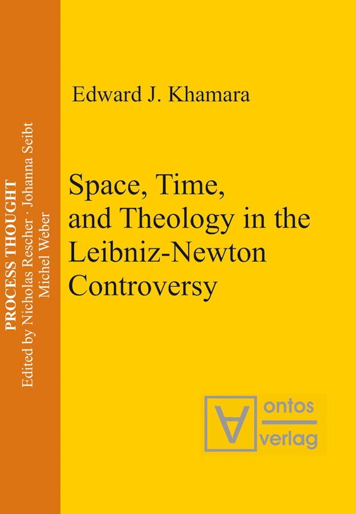 Abbildung von Khamara | Space, Time, and Theology in the Leibniz-Newton Controversy | 2006