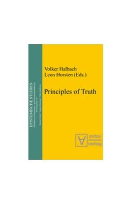 Abbildung von Halbach / Horsten | Principles of Truth | 2nd ed. | 2004