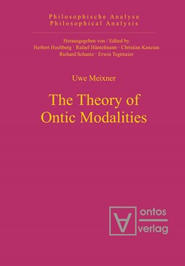 Abbildung von Meixner | The Theory of Ontic Modalities | 2006 | 13