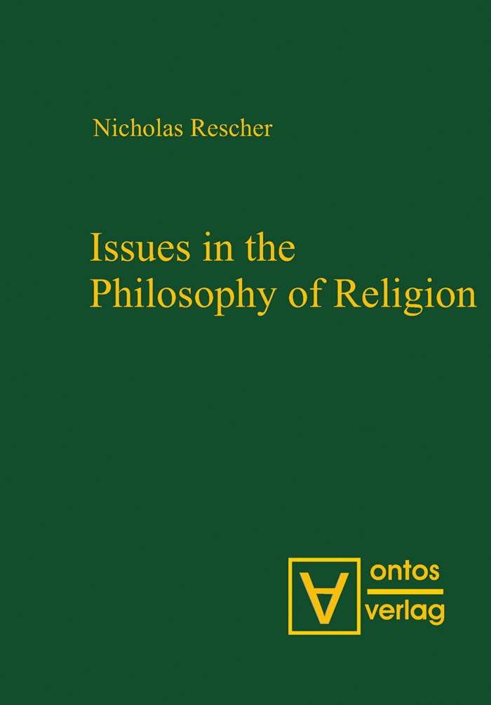 Abbildung von Rescher | Issues in the Philosophy of Religion | 2007