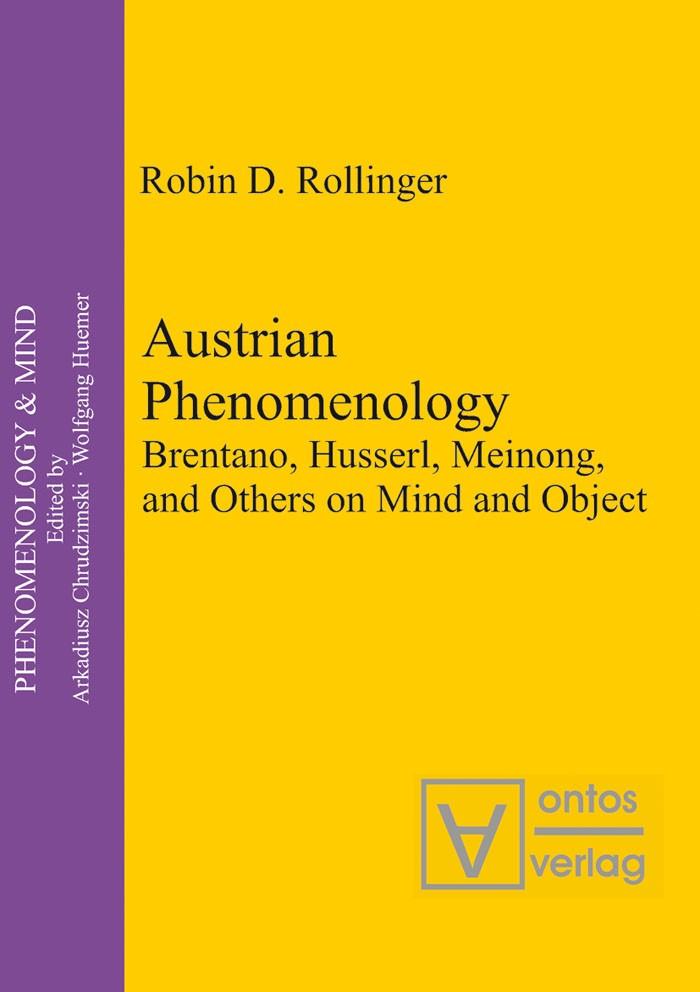 Abbildung von Rollinger | Austrian Phenomenology | 2008