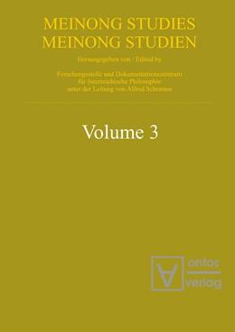 Abbildung von Schramm | Meinongian Issues in Contemporary Italian Philosophy | 2009 | 3
