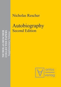 Abbildung von Rescher | Autobiography | 2010