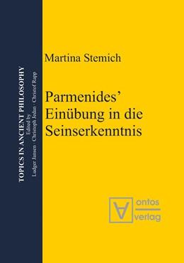 Abbildung von Stemich Huber | Parmenides' Einübungin die Seinserkenntnis | 2008 | 2