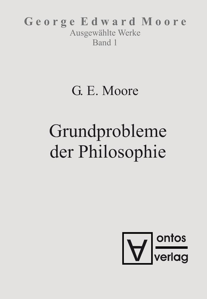 Abbildung von Moore | Grundprobleme der Philosophie | 2007