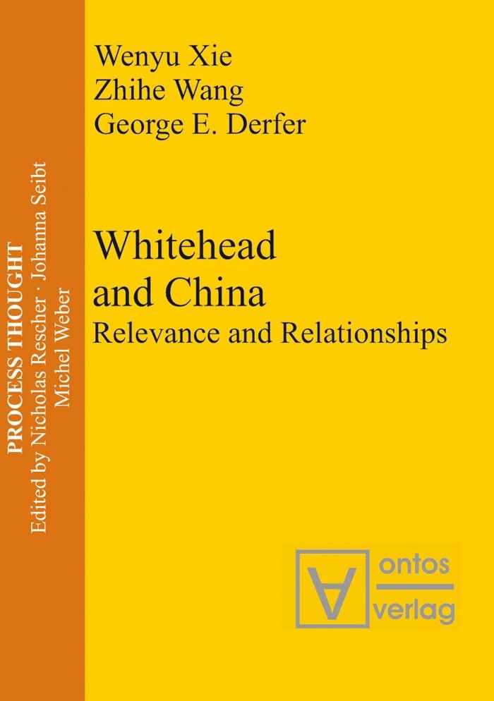 Abbildung von Xie / Wang / Derfer | Whitehead and China | 2005