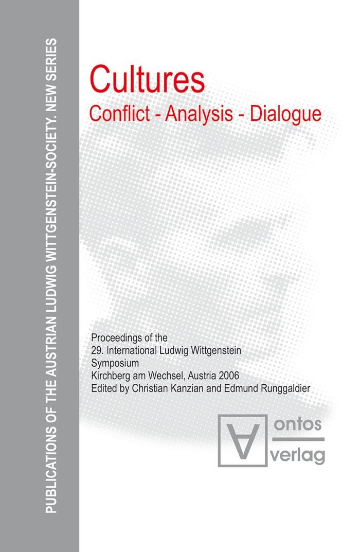 Abbildung von Kanzian / Runggaldier SJ | Cultures. Conflict - Analysis - Dialogue | 2007