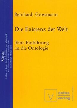 Abbildung von Grossmann | Die Existenz der Welt | 2002 | Eine Einführung in die Ontolog... | 1