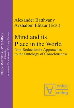 Abbildung von Batthyány / Elitzur | Mind and its Place in the World | 2006 | Non-Reductionist Approaches to... | 7