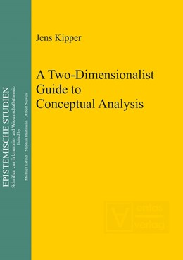 Abbildung von Kipper | A Two-Dimensionalist Guide to Conceptual Analysis | 2012 | 25