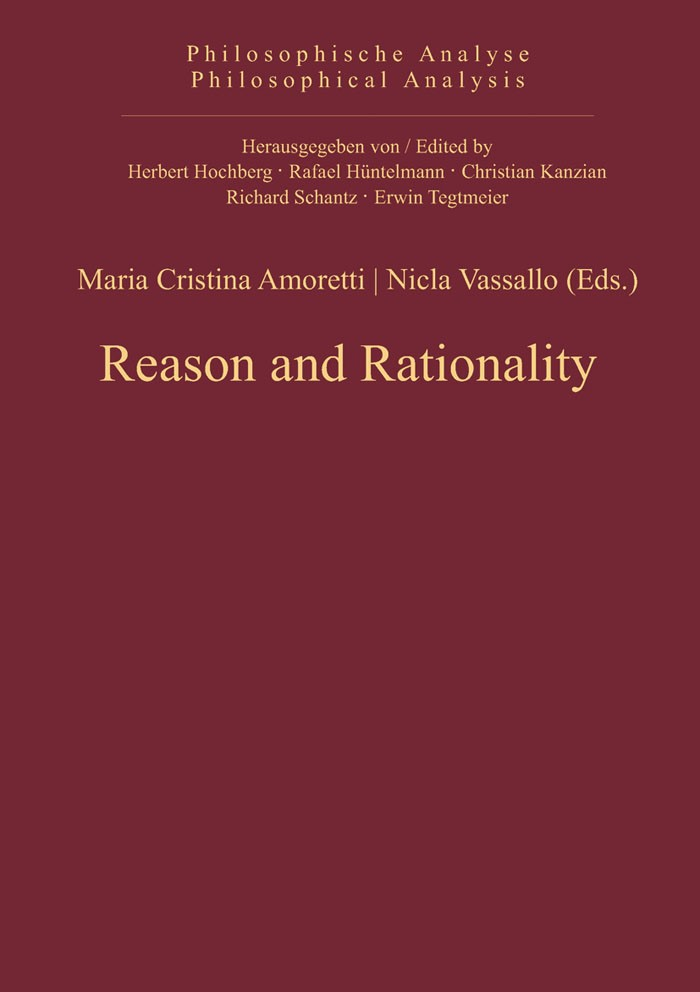 Abbildung von Amoretti / Vassallo | Reason and Rationality | 2013