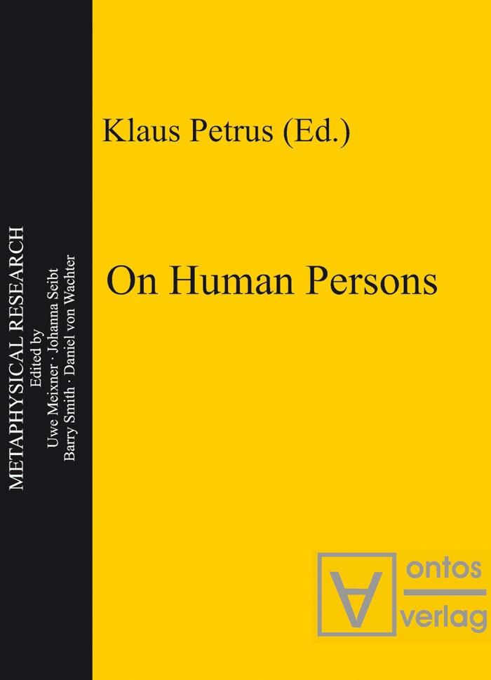 Abbildung von Petrus | On Human Persons | 2003