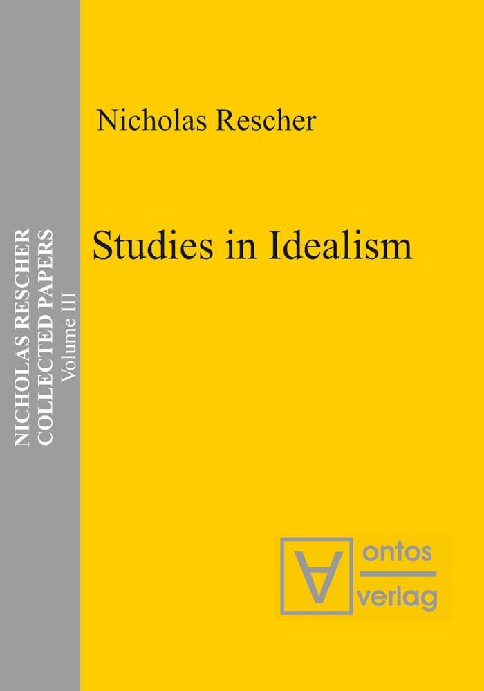 Abbildung von Rescher   Studies in Idealism   2005
