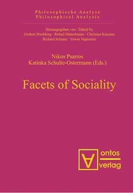 Abbildung von Psarros / Schulte-Ostermann | Facets of Sociality | 2006 | 15