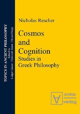Abbildung von Rescher | Cosmos and Logos | 2005 | Studies in Greek Philosophy | 1