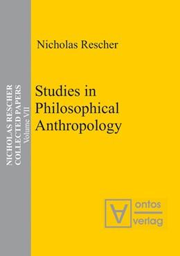 Abbildung von Rescher | Studies in Philosophical Anthropology | 2006
