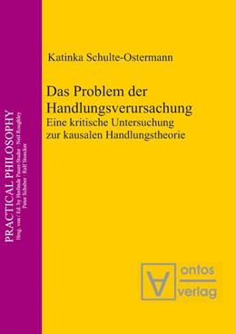 Abbildung von Schulte-Ostermann   Das Problem der Handlungsverursachung   2011   Eine kritische Untersuchung zu...   14