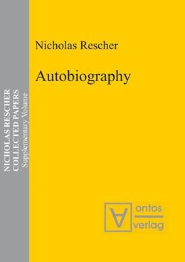 Abbildung von Rescher | Autobiography | 2007