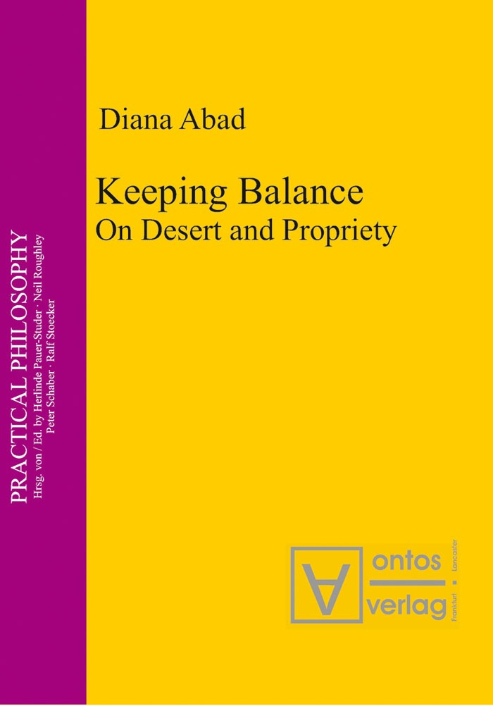 Keeping Balance | Abad, 2007 | Buch (Cover)