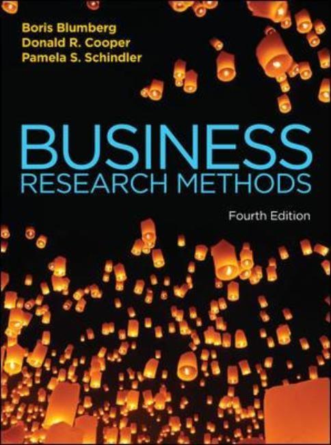 Abbildung von Blumberg / Cooper / Schindler | Business Research Methods | 2014