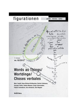 Abbildung von Zanetti | Word-Things/Wortdinge/Choses verbales | 2013 | 14,2