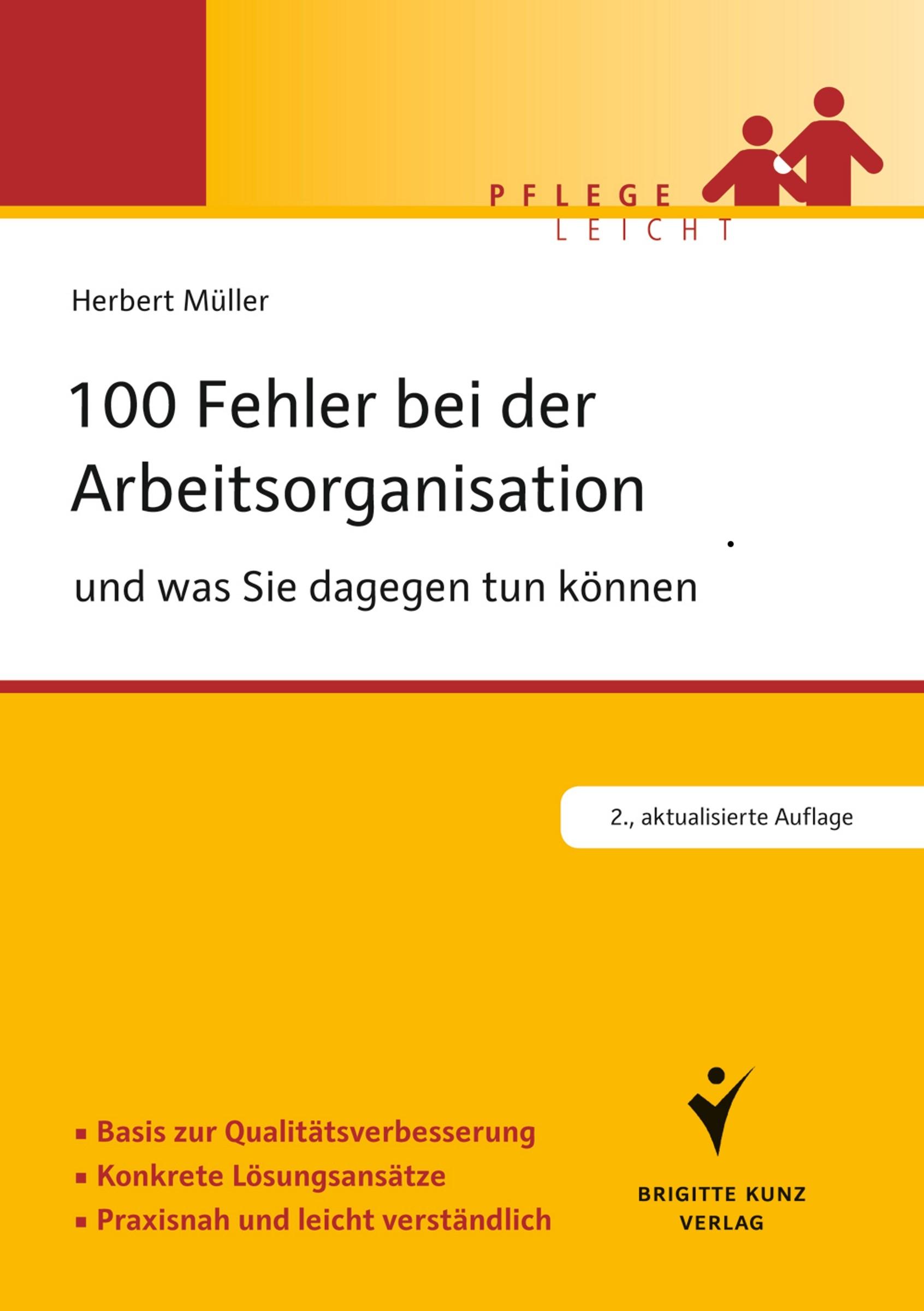 Abbildung von Müller | 100 Fehler bei der Arbeitsorganisation und was Sie dagegen tun können | 2013